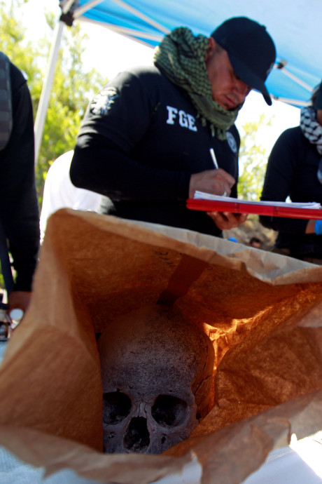 Honderden menselijke botten gevonden in Mexico