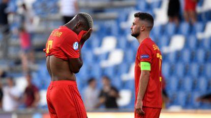 Jonge Duivels kunnen niet stunten tegen Spanje (2-1), EK is met 0 op 6 zo goed als zeker voorbij