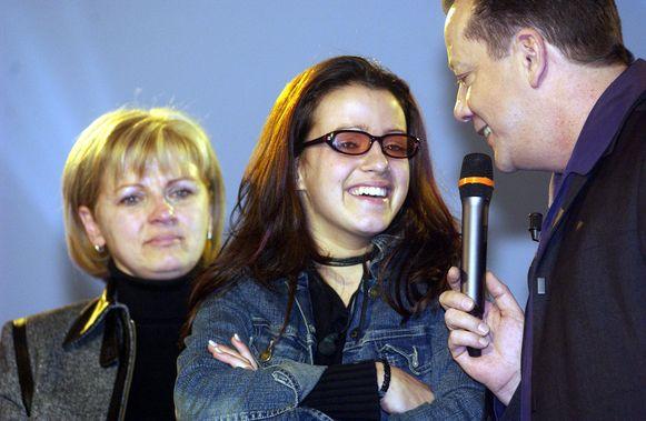 Ellen tijdens de finale van 'Big Brother'