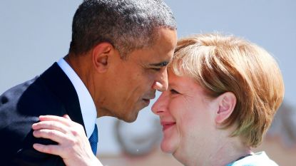 """""""Nu is ze helemaal alleen"""", zei Obama na laatste ontmoeting met Merkel. En bondskanselier pinkte een traan weg"""