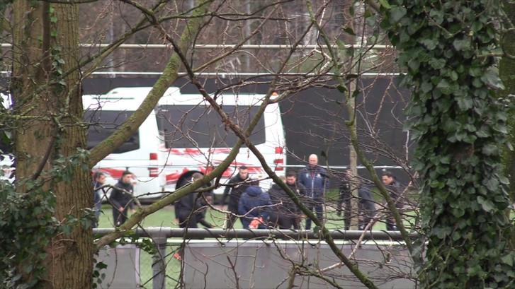 Van Persie traint voor het eerst bij Feyenoord