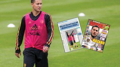 """Spaanse media verlekkeren zich aan transfer Hazard: """"De twaalfde Galáctico, 19 jaar na Figo"""""""