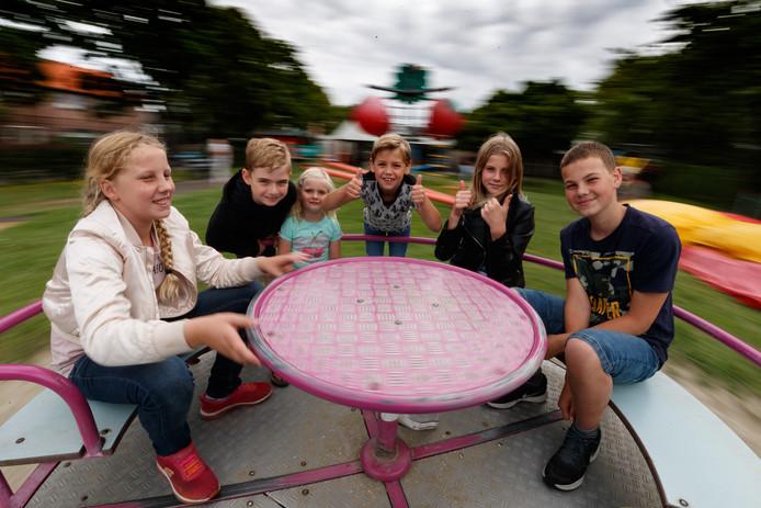 Buitenspeeldag! Lekker buiten spelen dus, bijvoorbeeld in speeltuin van buurtvereniging Westerkwartier.