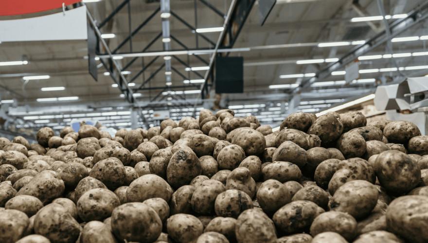Veel boeren blijven op dit moment zitten met hun aardappels.