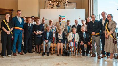 Lievegem houdt eerste gemeenschappelijke viering voor jubilarissen: zes Waarschootse koppels in de bloemetjes gezet