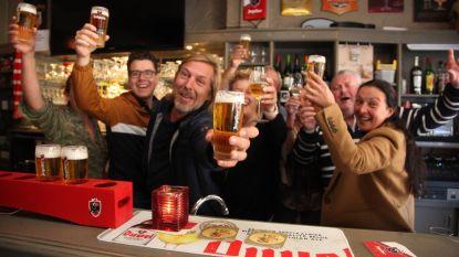 Nieuwkomer dankt kiezers met vaten bier