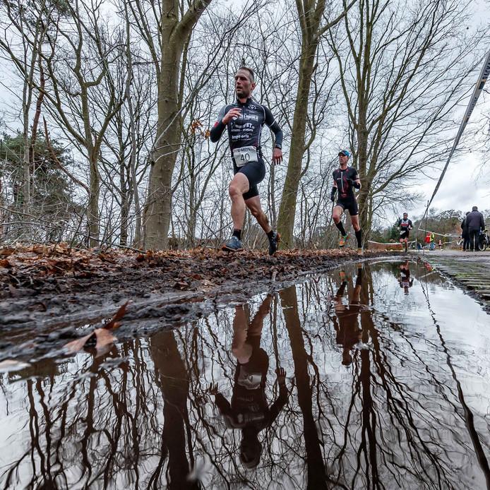 Etten-Leur - 10-2-2019 - Foto: Pix4Profs/Marcel Otterspeer - Crossduatlon bij 't Santspuy.