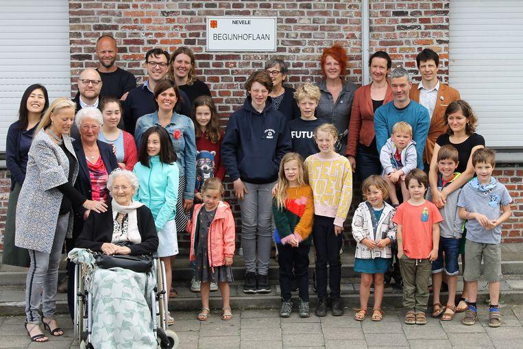 De bewoners van de Begijnhoflaan.