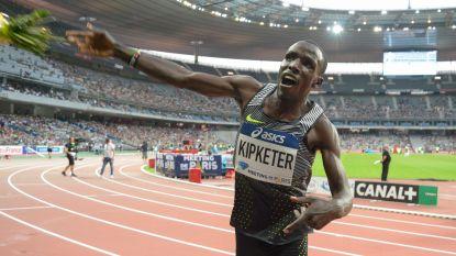Keniaanse atleet Alfred Kipketer mist drie dopingcontroles en is voorlopig geschorst