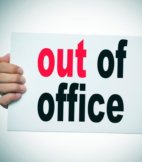 Wat zet je in je out-of-office? En vooral: wat niet?