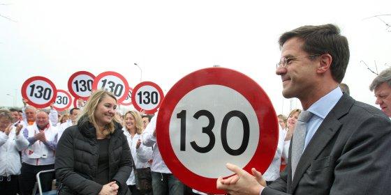 Het verdwijnen van de 130-bordjes is  een bittere pil voor de vroemvroempartij