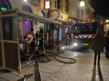 Brand in binnenstad Enschede snel onder controle