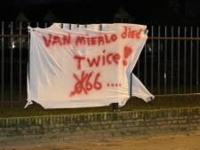 Na bekladde posters duikt nu ook anti-D66 spandoek op in Enschede