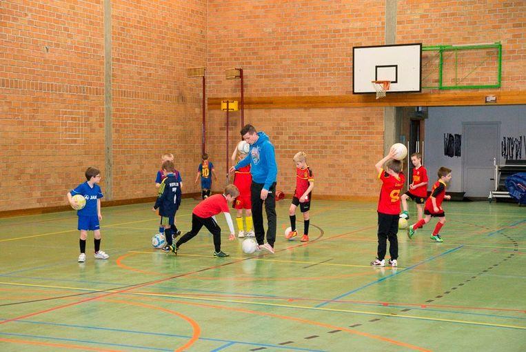 Kinderen aan het sporten tijdens een van de vakanties.