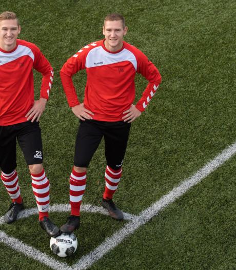 Onafscheidelijke Zwaluwe-tweeling roemt kracht van dorpsclub