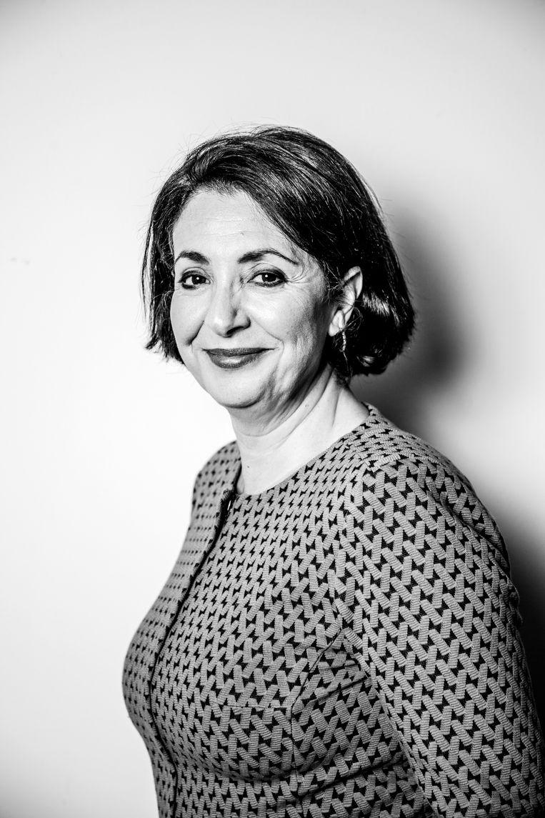 Khadija Arib: 'Om me heen zie ik soms collega's die een kans krijgen, ook al hebben ze geen ervaring. Voor mij geldt dat niet.' Beeld Ernst Coppejans