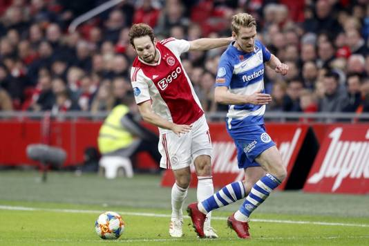 Daley Blind in actie.