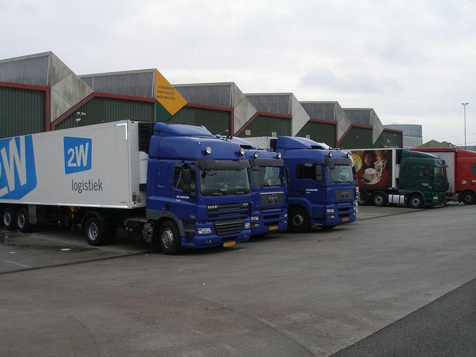 Het wagenpark van 2W Logistiek gaat verder onder de vlag van Peter Appel Transport.