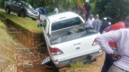 President Kabila komt ongedeerd uit ongeval