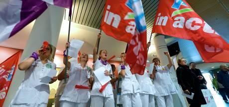 Ziekenhuispersoneel Bravis en Amphia beraadt zich op nieuwe acties: 'Het leeft steeds meer'