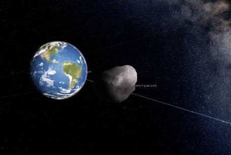 De kans dat de 2000 QW7 op aarde terechtkomt is nihil.