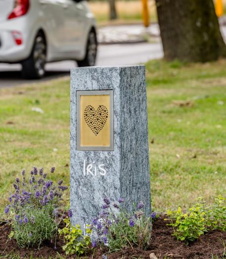 Eerbetoon aan doodgereden Iris (14) langs Stokhasseltlaan in Tilburg: 'We denken aan jou'