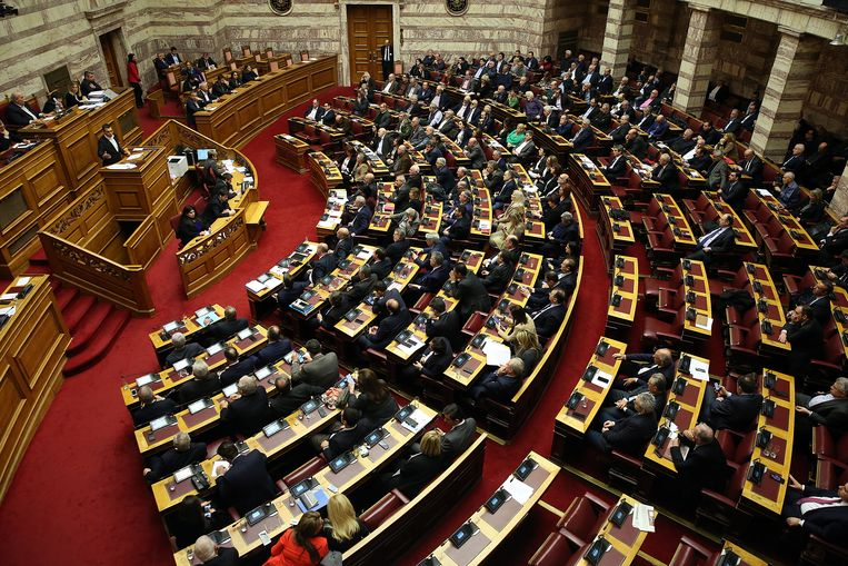 Het Griekse parlement