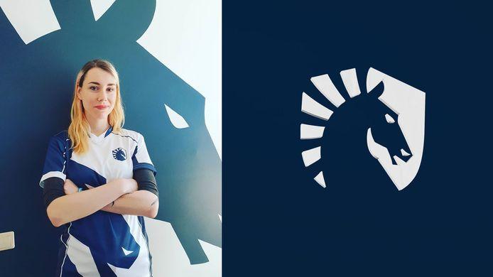 Laura Bouman heeft van Team Liquid al een eigen teamshirt toegestuurd gekregen, terwijl ze pas in juni in haar functie begint.