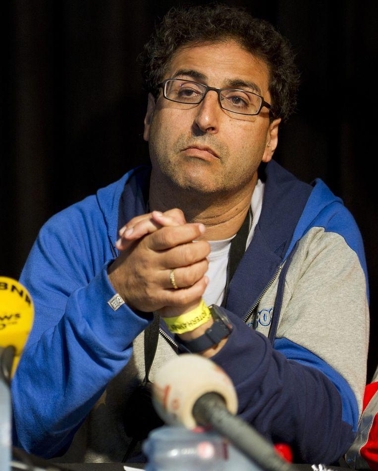 Festivaldirecteur van Pukkelpop, Chokri Mahassine. Beeld EPA
