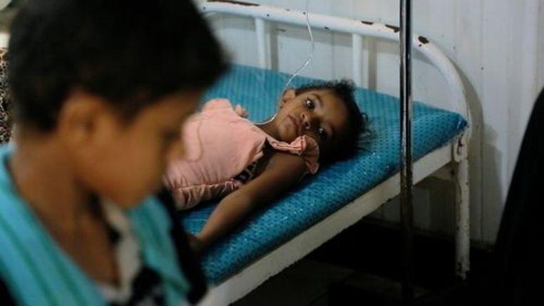 Er is hongersnood in Jemen.