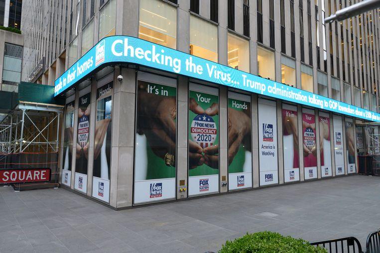 De studio van Fox News in New York. Beeld Getty