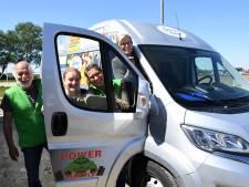 Voedselcollectief Goeie Kost kan vooruit met superblitse bus