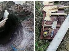 Une mère creuse un tunnel pour sortir son fils de prison