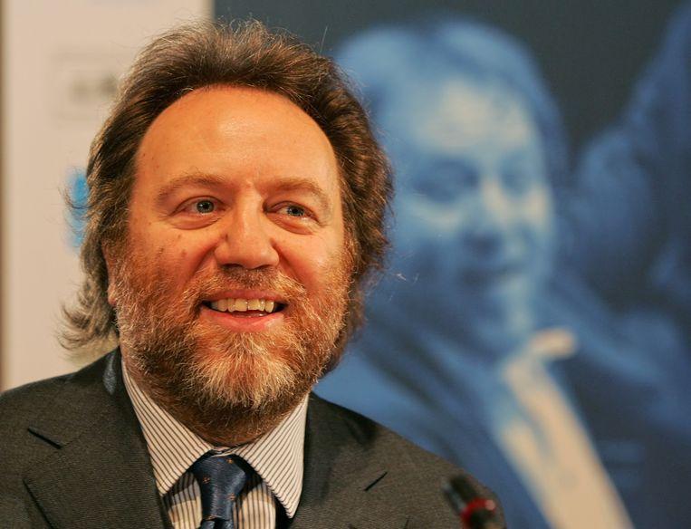 Riccardo Chailly, die het Concertgebouworkest van van 1988 tot 2004 leidde. Beeld ap
