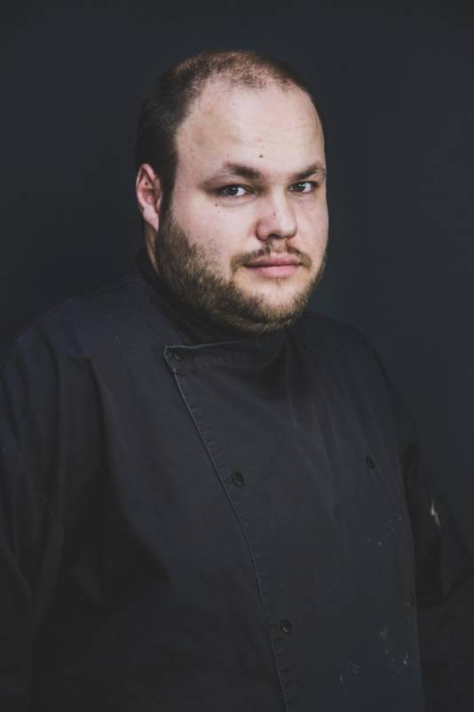 Ricardo de Beer (30), chefkok en bedrijfsleider van brasserie De Altena in Oosterhout.