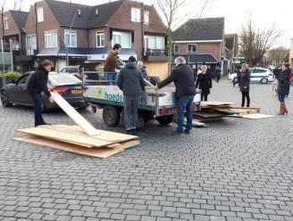Maatregelen in centrum Rosmalen: ook het huis van moeder Den Otter (87) wordt dichtgetimmerd