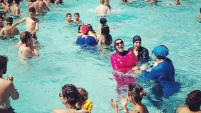 Grenoble sluit zwembaden om rel over boerkini