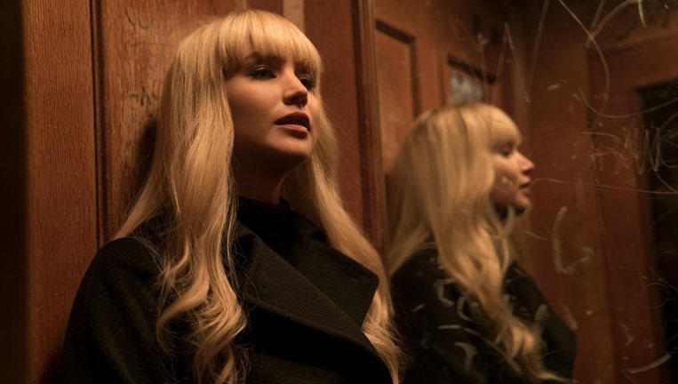 jennifer Lawrence in Red Sparrow Beeld