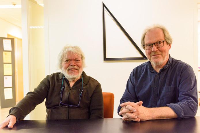 Thijs van Kimmenade (links) en Rob Schoonen