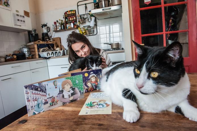De Rusische illustrator Zhenya Lyapina maakt illustraties van Gouwenaars (en hun huisdieren)