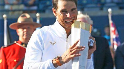 Halep geplaatst voor Finals - Nadal pakt in Toronto 33ste zege in Masters 1.000-toernooi - Goffin vervoegt Team Europa in Laver Cup