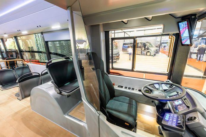 Ebusco's nieuwe lichtgewicht elektrische bus.