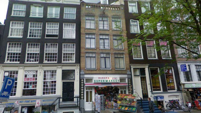 Het complex aan de Nieuwezijds Voorburgwal 51 werd in juli gesloten. Beeld Google Maps