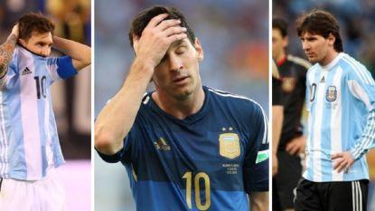IN BEELD. Lionel Messi en 'La Albiceleste': een schrijnend huwelijk