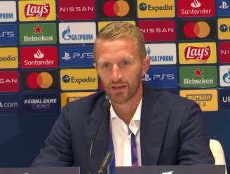 """AA Gent-coach De Decker: """"Dit komt hard aan"""""""