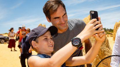 """VIDEO. Roger Federer geland in Australië: """"Hopelijk is Hopman Cup opnieuw start van fantastisch seizoen"""""""