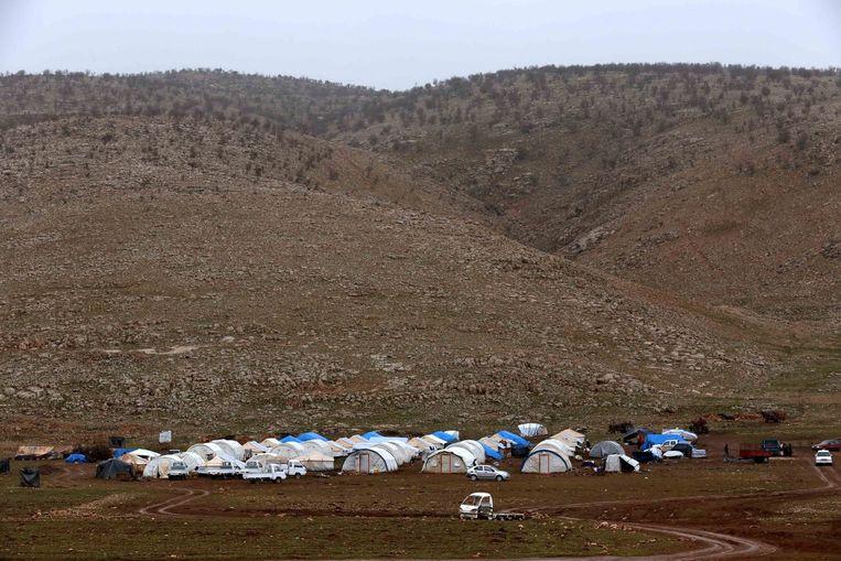 Mount Sinjar. Beeld afp