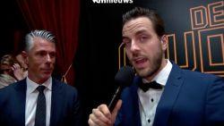 Guga Baúl kaapt interview op de Gouden Schoen