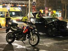 Forse schade na aanrijding twee personenauto's