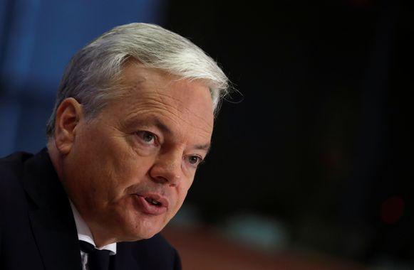 Kandidaat-eurocommissaris Didier Reynders
